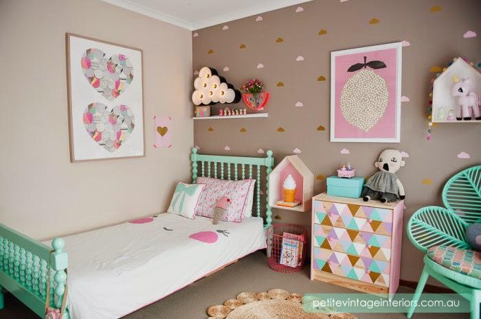 Quarto infantil ideias para decorar quarto de menina for Cuartos de nina vintage
