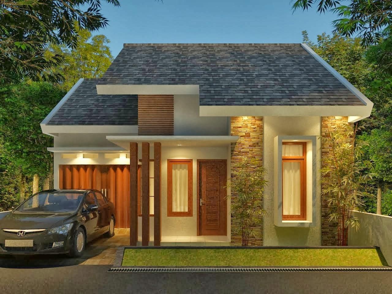 107 Desain Rumah Minimalis Modern Lengkap Gambar Desain Rumah