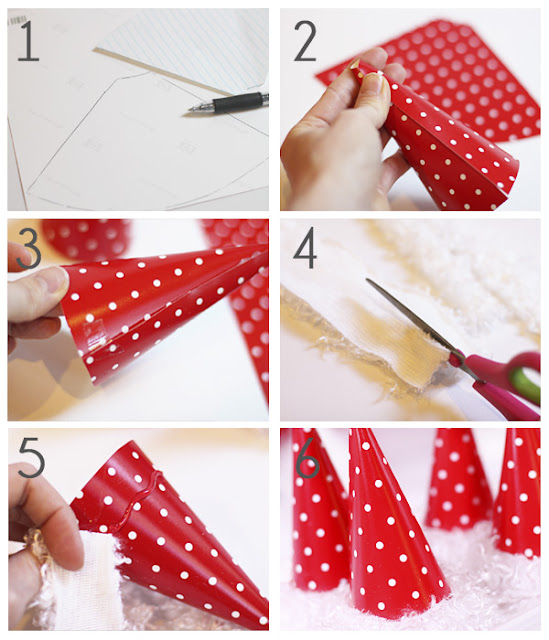 Santa's Hat Pops from Shindig Parties to Go!! So cute and easy to make.