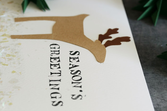 How to make an L.E.D Reindeer Greeting Card