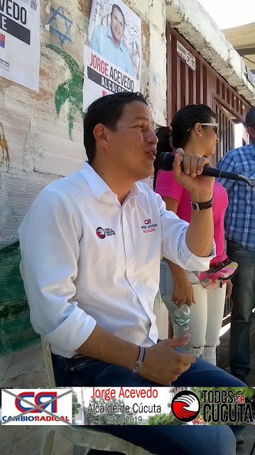 Jorge Acevedo Alcalde cada día recibe más electores que han decidido seguirle por muchas razones « fotos ☼ video - CúcutaNOTICIAS