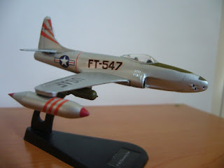Korea War Jet Lockheed P-80/F-80 Shooting Star of Italeri
