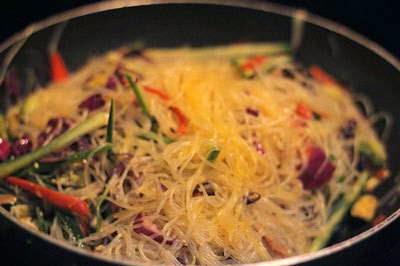 Vietnamese Noodle Recipes - Miến Xào Thập Cẩm