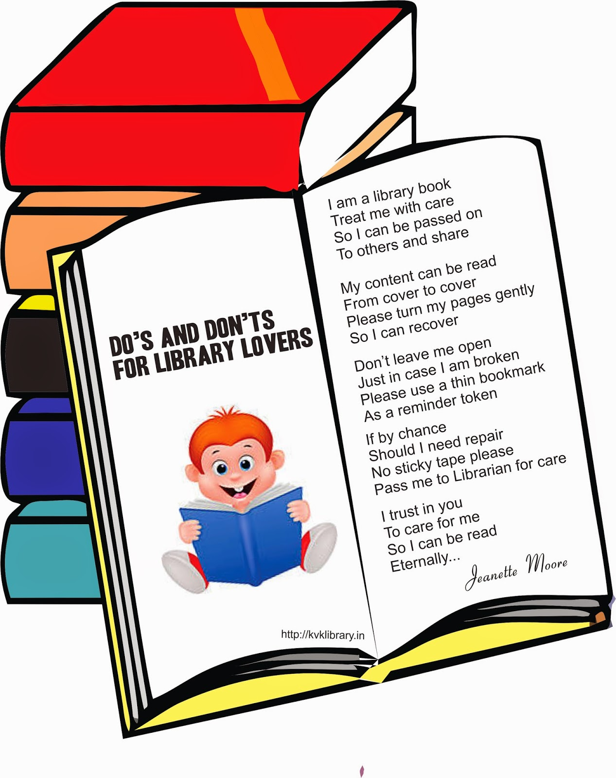 Do's and Don'ts for Library Lovers - A Poem