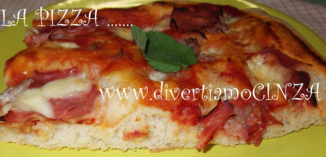 PIZZA FATTA IN CASA