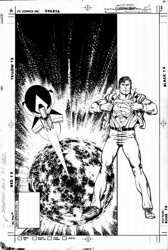 Dc Comics Of The 1980s 1987 Anatomy Of A Cover The Man Of Steel 1