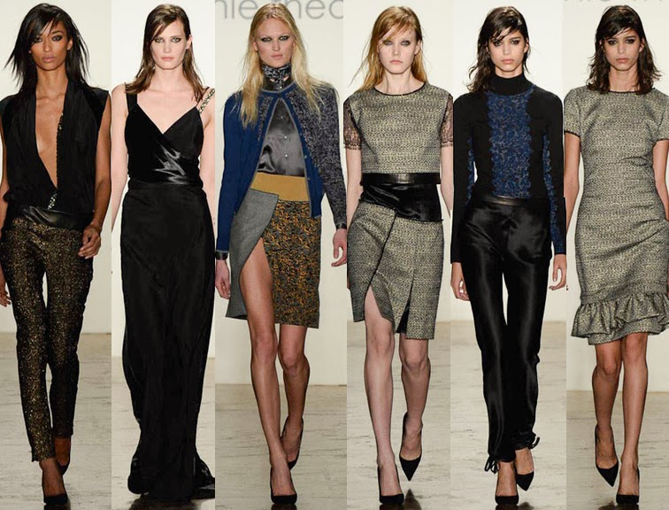 Sophie Theallet fall winter 2014 runway collection, NYFW, fashion week