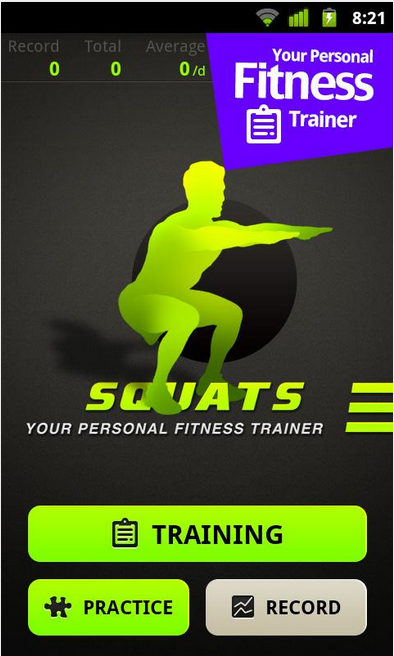 Squats pro_Android Health and Fitness app