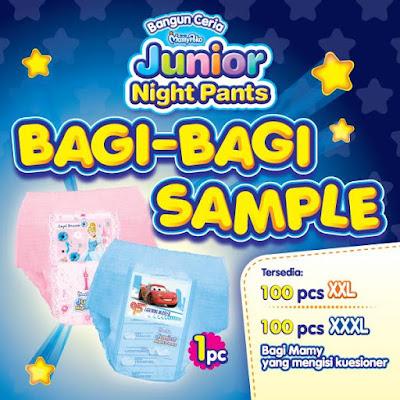 Sampel-Gratis-200-Produk-Mamy-Poko-Junior-Night-Pants