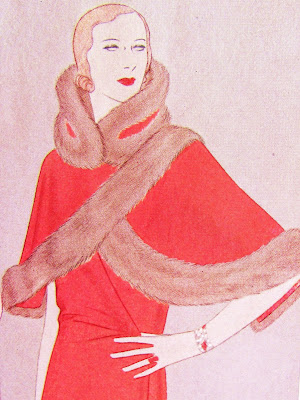 1930's fashion illustration