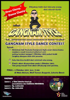 gangnam style competition