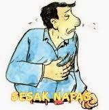 penyakit sesak nafas