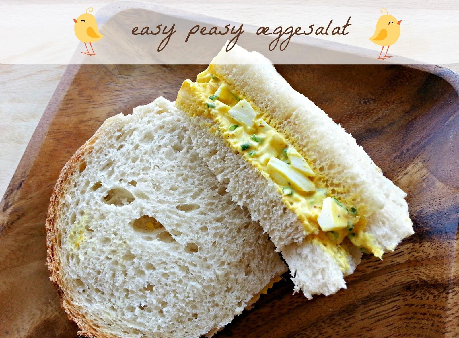 Easy peasy æggesalat=
