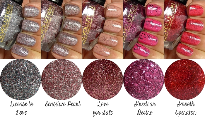 Makeup Revolution Glitter Nail Polish