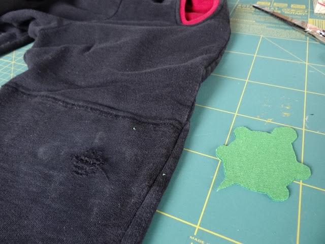 Otro pantalón roto