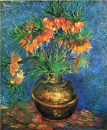 Fritillaries in a Copper Vase de Vincent Van