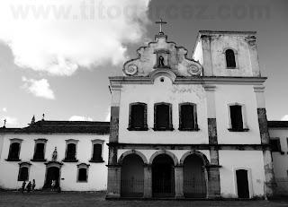 Igreja de São Francisco, tendo à sua esquerda o museu de Arte Sacra de São Cristóvão - Sergipe