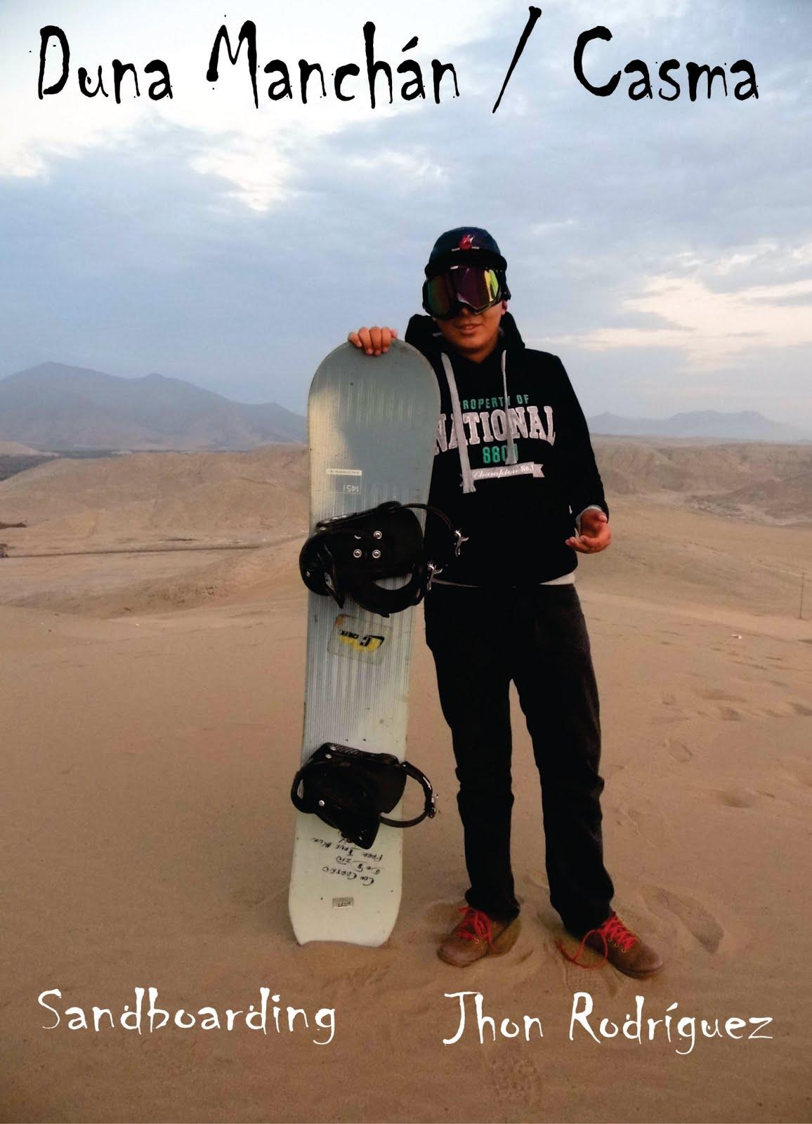 Sandboarding - Manchán