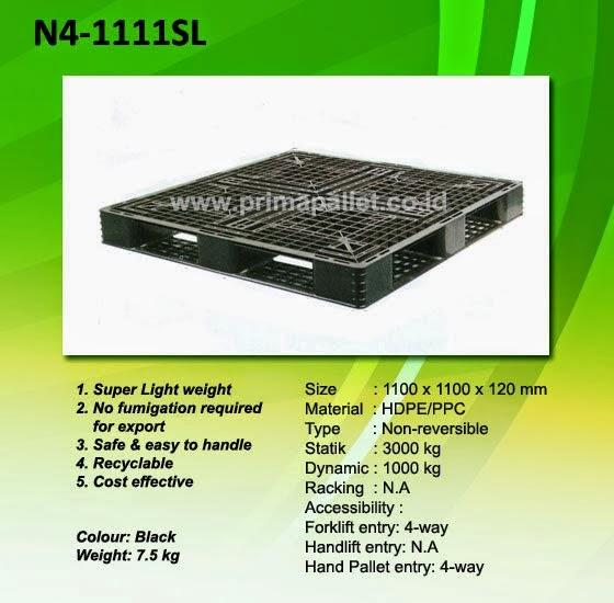 Pallet Plastik Baru Murah R4-1111SL