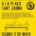 El 9 de maig, Nou Barris Cabrejada diu prou a la plaça Sant Jaume