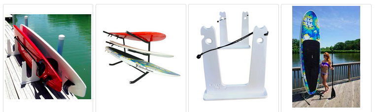 freestanding paddleboard racks