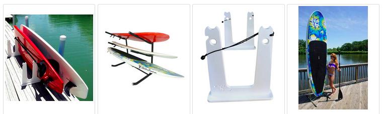 freestanding paddleboard racks