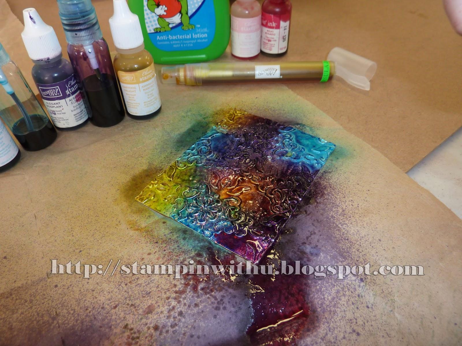 Multi Coloured foil