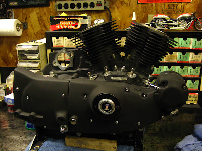 Harley Davidson Textured Black Engine Paint