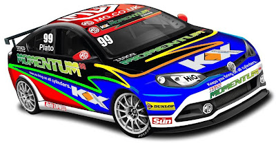 MG 6 GT NGTC 2012 (Rendering) Front Side