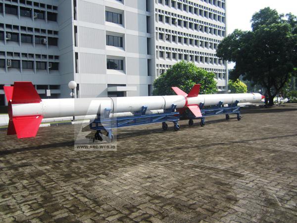 Kemajuan Riset Roket Peluncur Satelit RX-550
