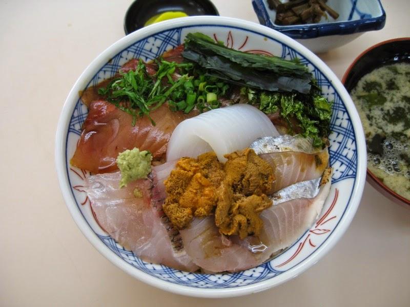 日御碕の海鮮丼