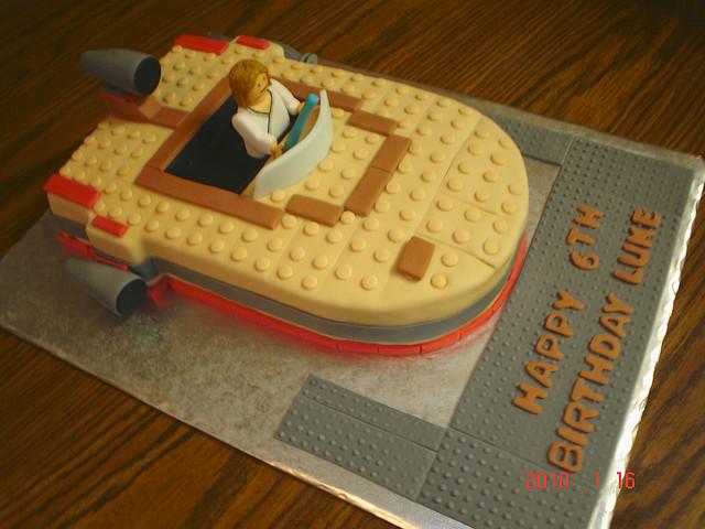 Star Wars Cake Ideas Images : Birthday Cake: Star Wars Lego Birthday Cakes