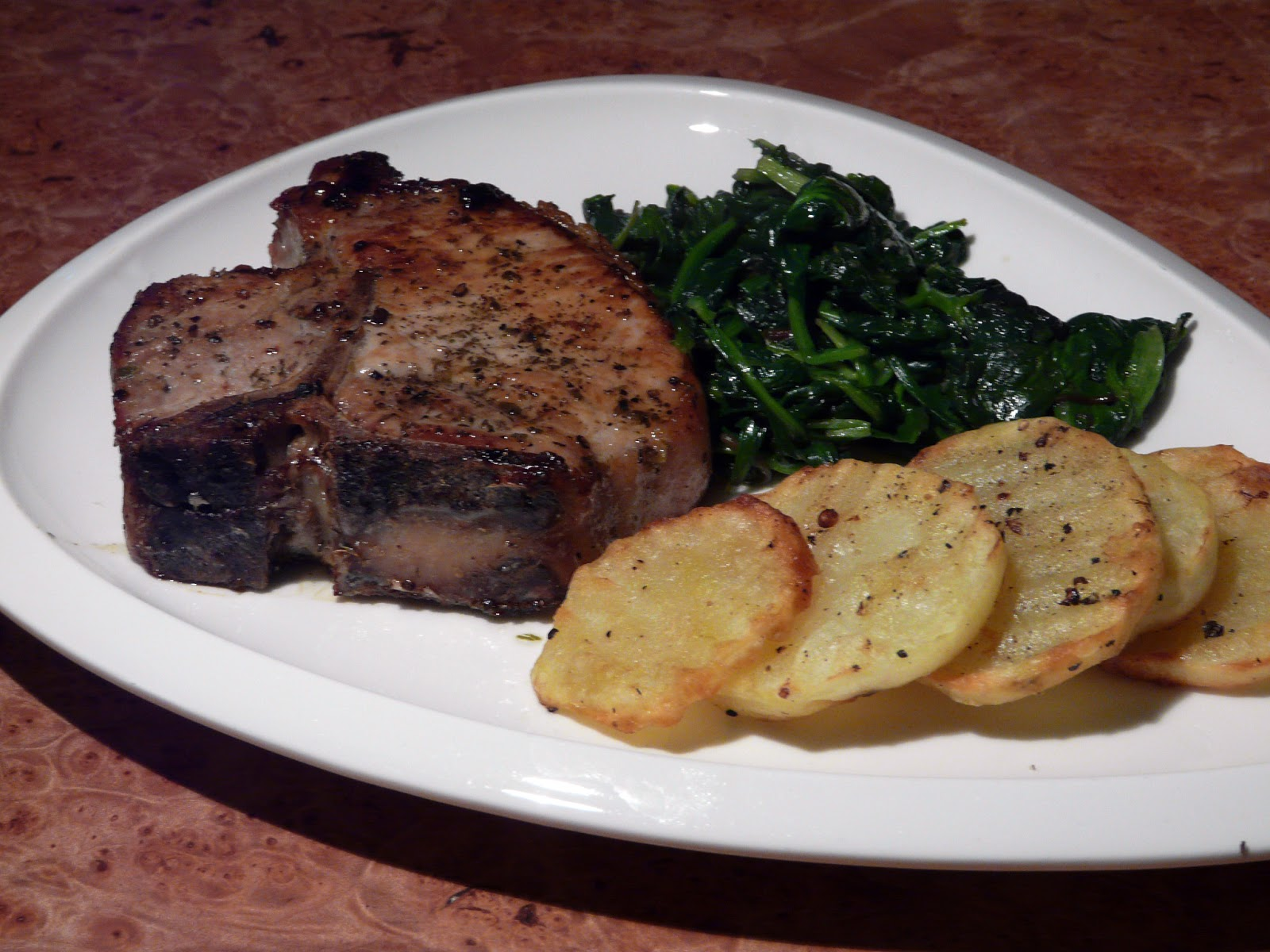 how to cook pork loin steaks in the oven