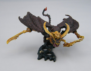 Citadel Miniatures BME-3 Balrog for LOTR - Top View