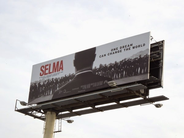 Selma movie billboard