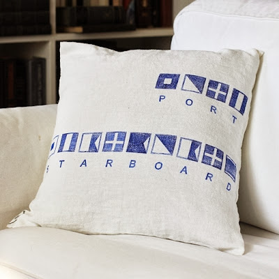 design.christonium custom nautical flag pillows