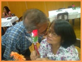 Gil kisses Rebing