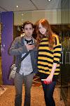 Con Karen Gillan (DW)