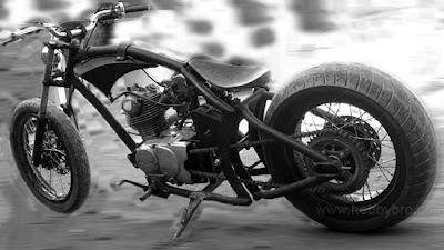 CB Modif Harley