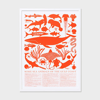Unison Home gulf sea animals print