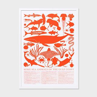 Unison Home gulf sea animals print