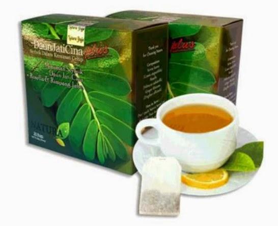 STERLAK Herbal Natura Daun Jati Cina Plus pekanbaru