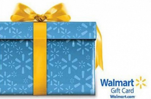 12 Days of Christmas Giveaways Day 5 - $25 Walmart Gift Card