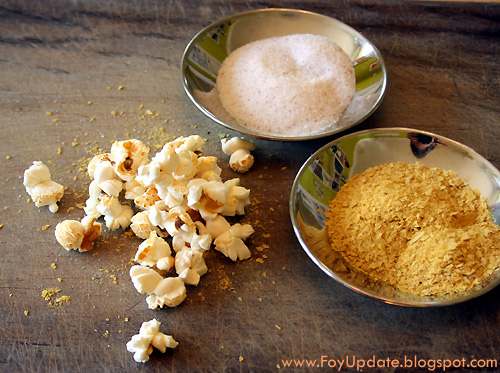 Brain Food: How to Eat More Minerals on the Wahls Paleo Diet with Sea Salt and Nutritional Yeast on Popcorn