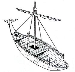 Nave Nuragica Nuragic Boat