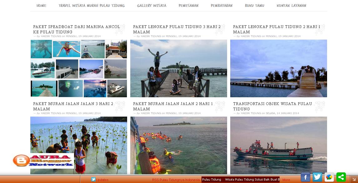 Pulau Tidungnya | Agent Travel Perjalanan Wisata Pulau Tidung