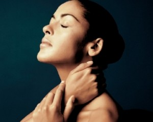 Skin Care Treatment With Neck Massage