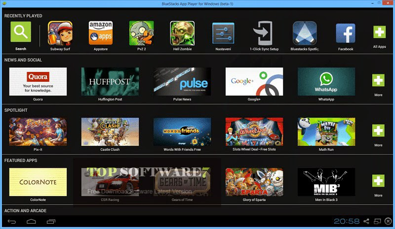 Download BlueStacks For Windows 10/8/7 PC