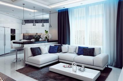 Услуги современного дизайна квартир от профессионалов
