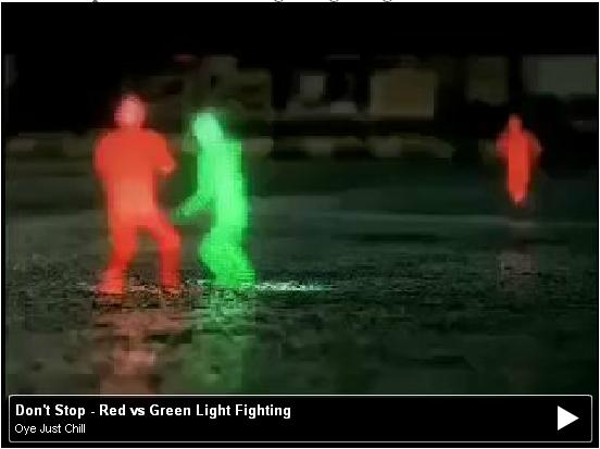Don't Stop - Red vs Green Light Fighting